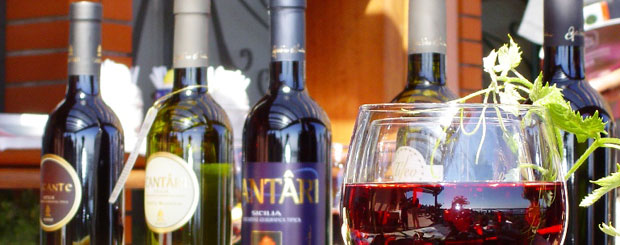 wine tasting during wine tours in sicily